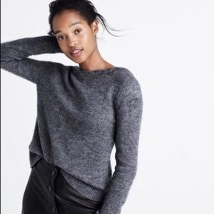 Madewell x Sezane Grey Brigette Sweater